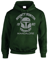 BOUNTY HUNTER HOODIE - INSPIRED BY BOBA FETT STAR WARS